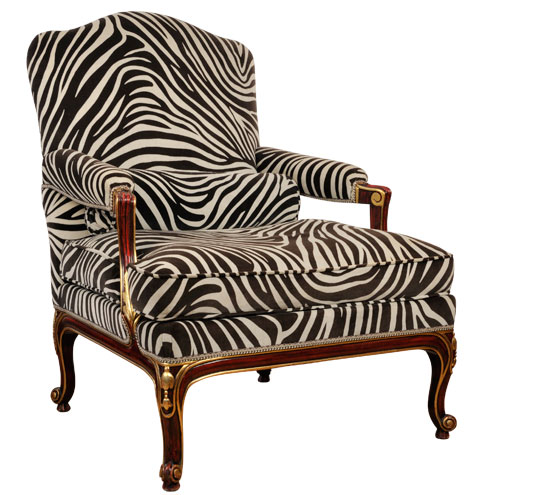 fauteuil zebre maison du monde ventana blog. Black Bedroom Furniture Sets. Home Design Ideas
