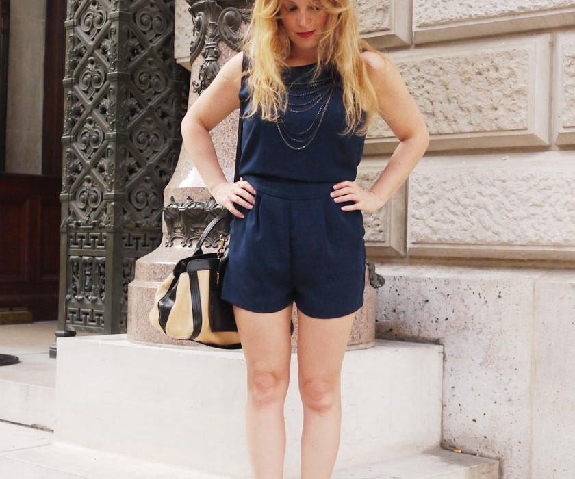 Combishort Zara : la mannequin & moi, ze match…