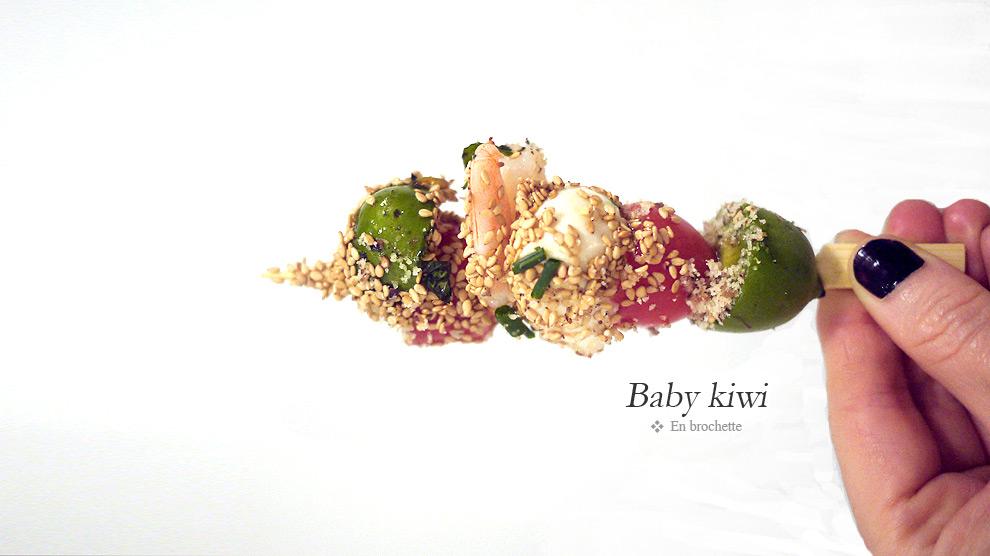 Automne vitaminé avec le baby kiwi Nergi