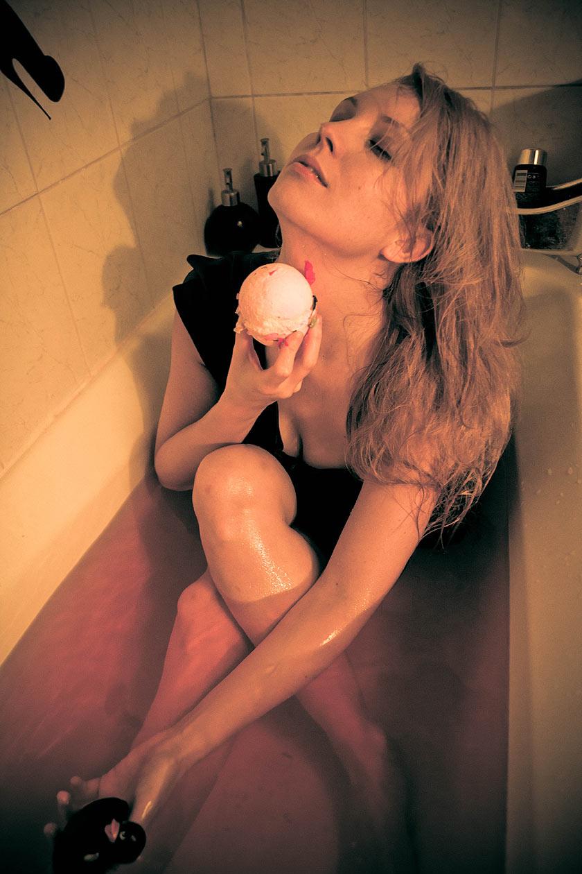 Dans mon bain
