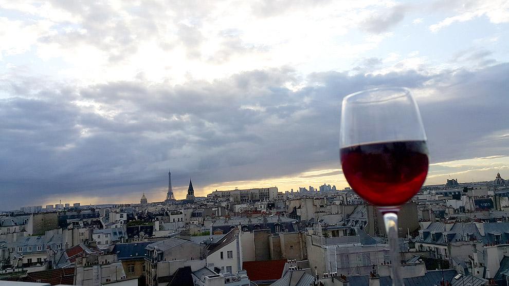 43 up the roof : vue panoramique sur les toits de Paris ! (Paris 6e)