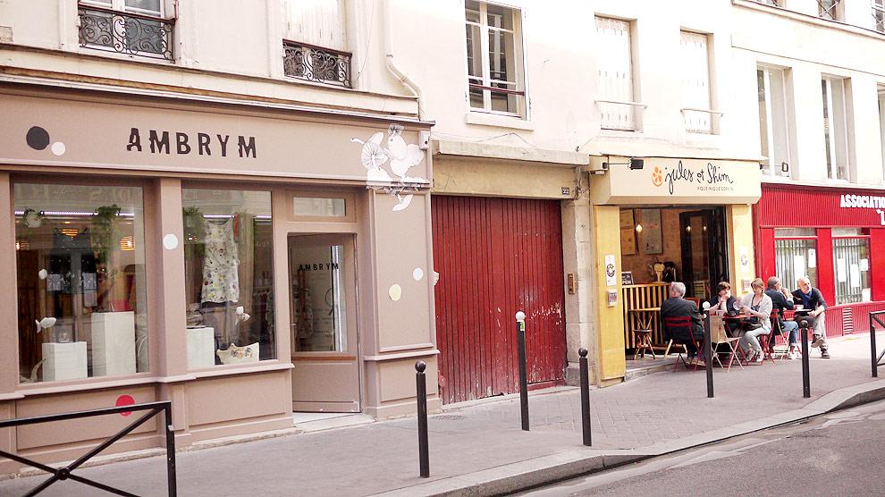 Balade autour du canal saint martin paris 10e - Restaurant rue des vinaigriers ...
