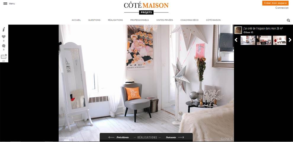 """Côté Maison lance """"Visite privée"""""""