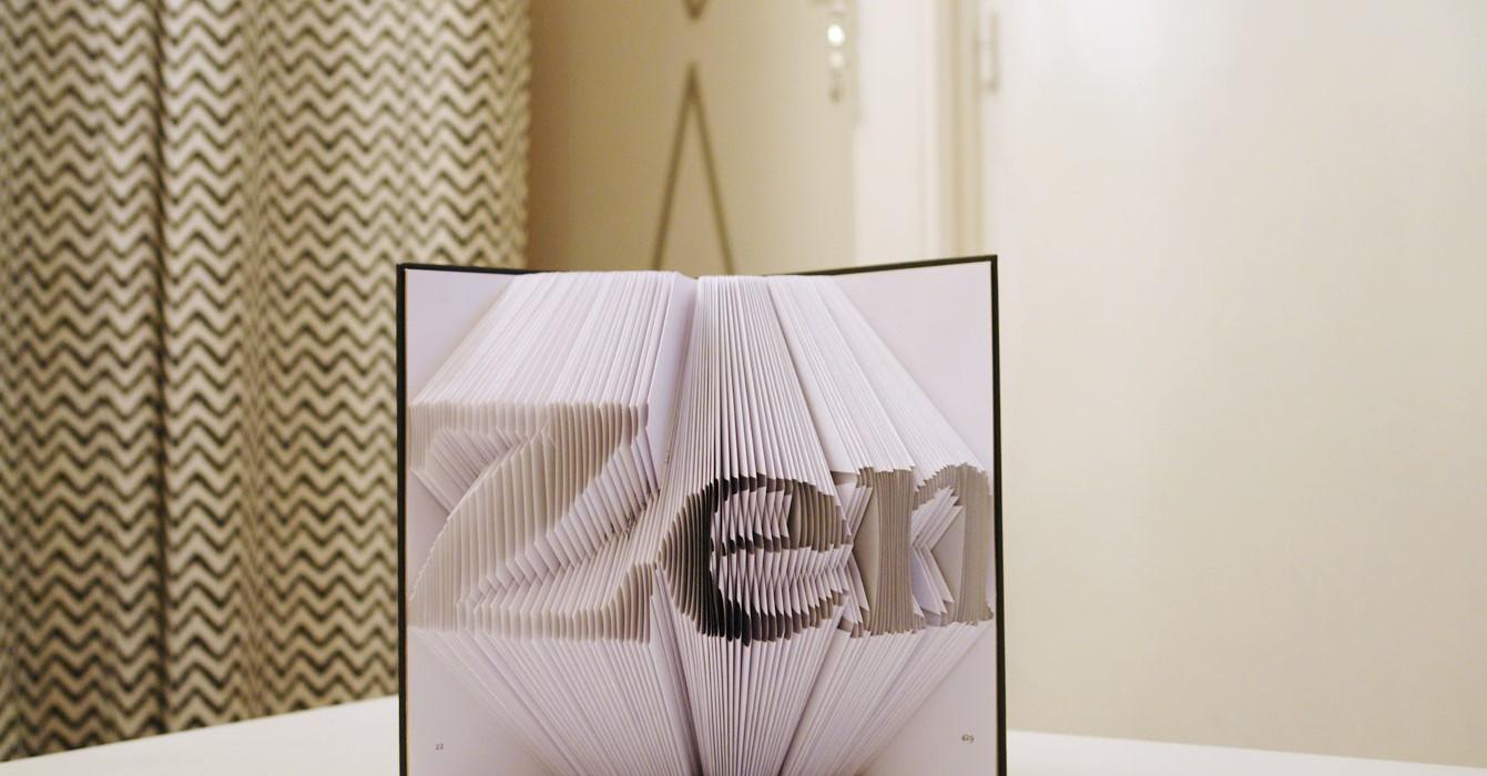 Tendance «ArtFolds» : le livre-sculpture à plier !