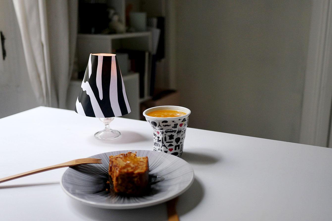 Patron Abat Jour Papier diy : mini abat-jour de charme pour la table - glose
