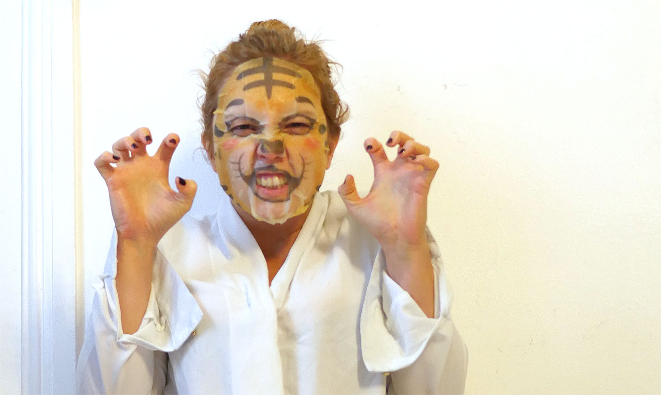 Masque en tissu asiatique