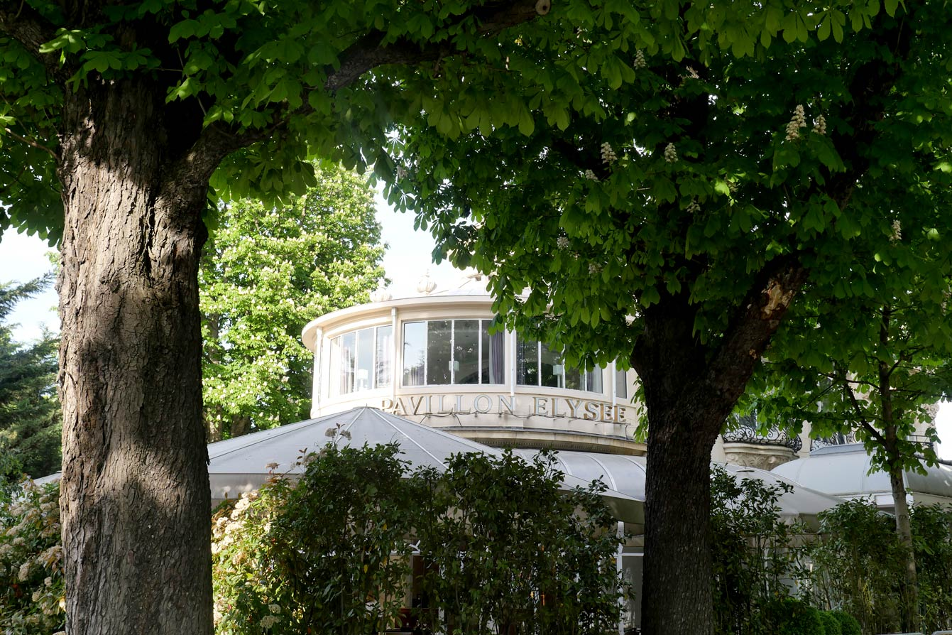 Le pavillon de l'Élysée