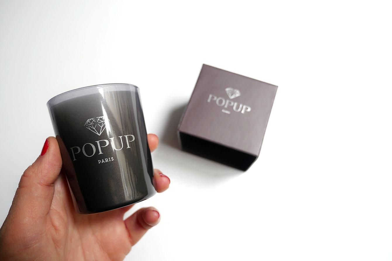 bougie parfumée Popup Paris