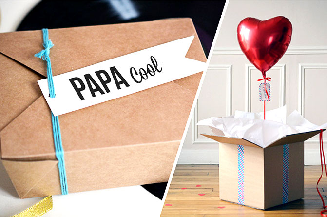 Combo papa cool + coeur rouge