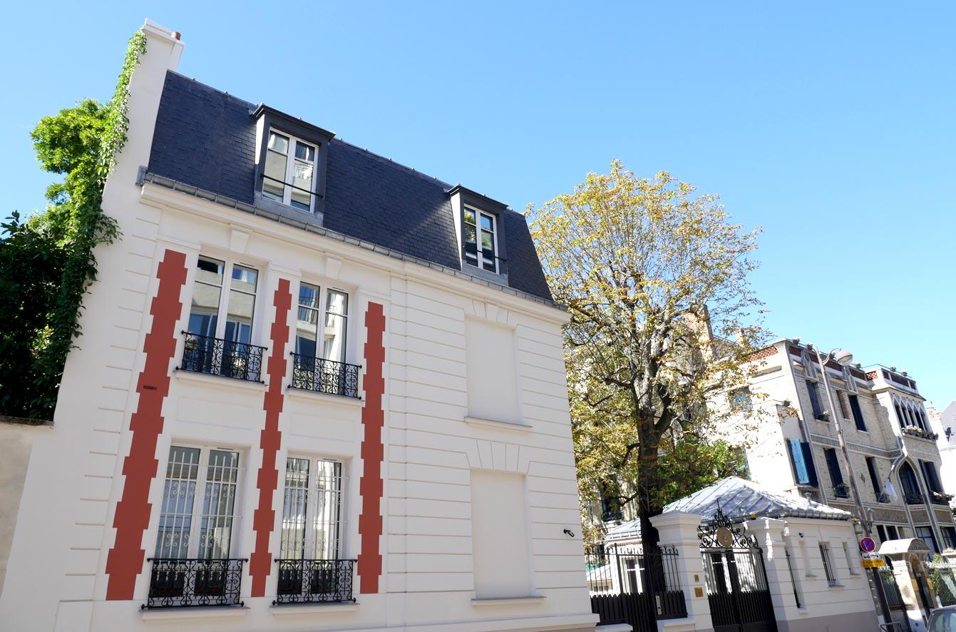la rue Boileau, Paris