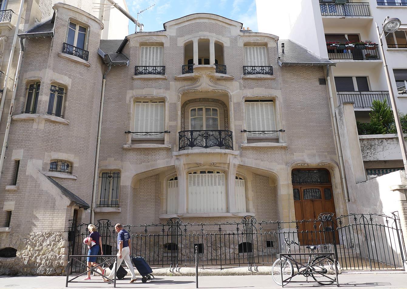 l'hôtel Mezzara, Paris 16e