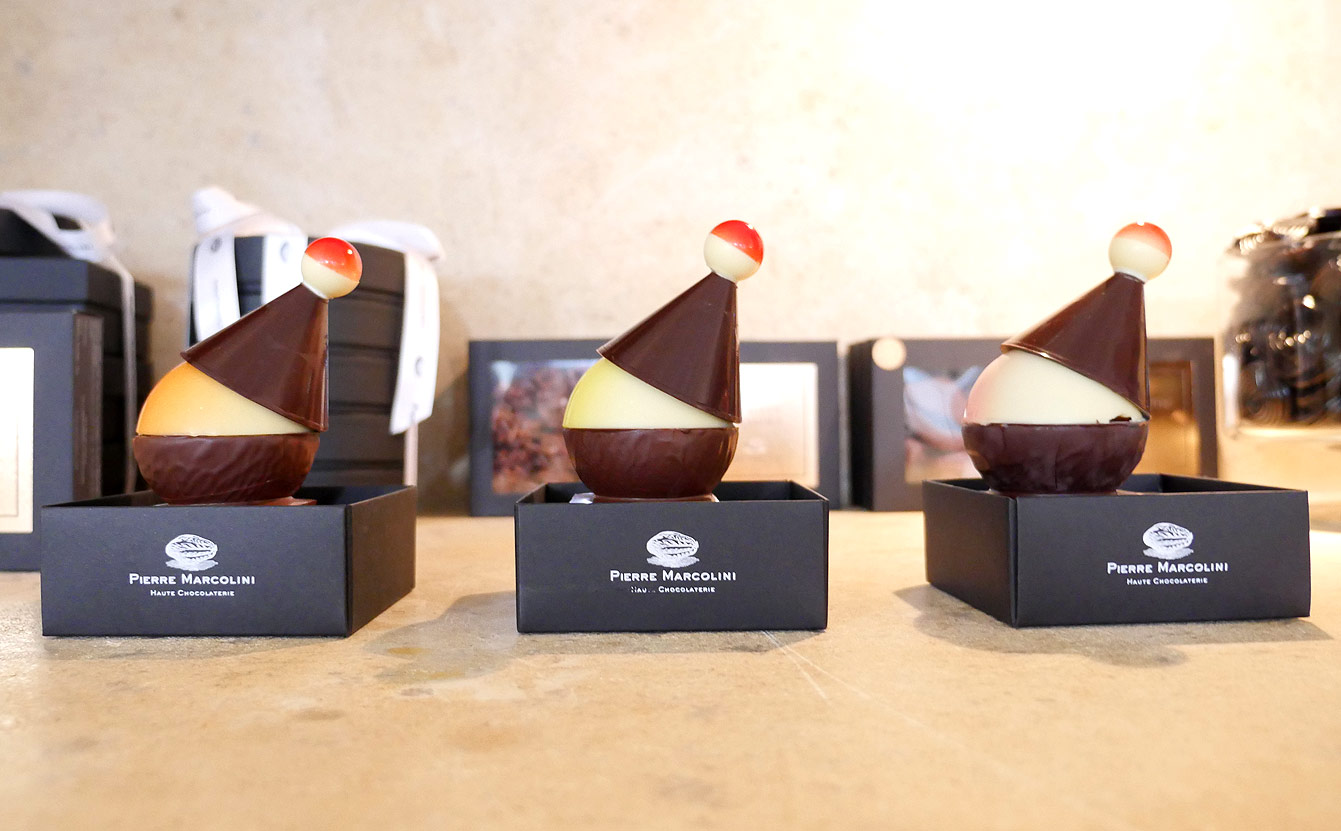 Collection chocolat Noël 2016 de la Maison Pierre Marcolini...