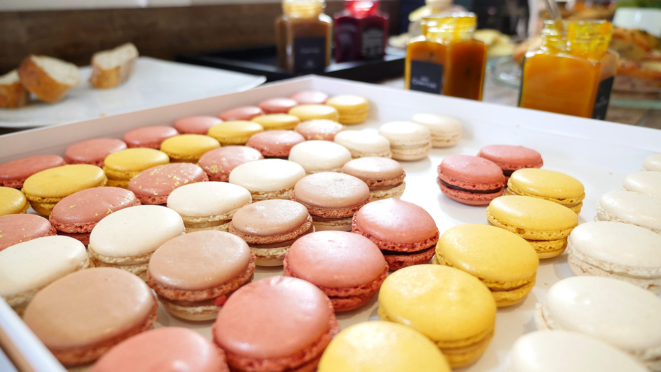 Macarons, Pierre Marcolini