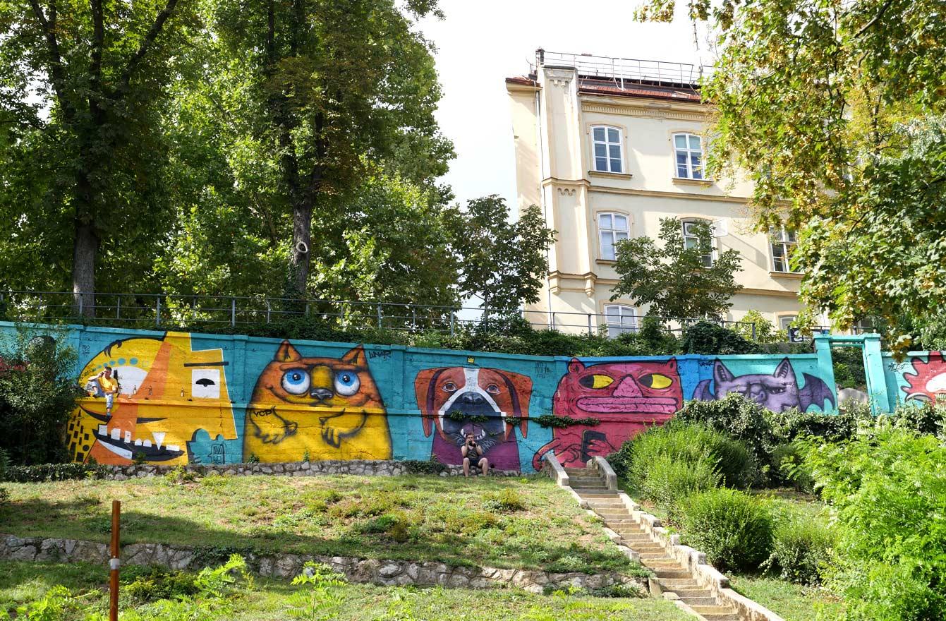 Art park, Zagreb, Croatie