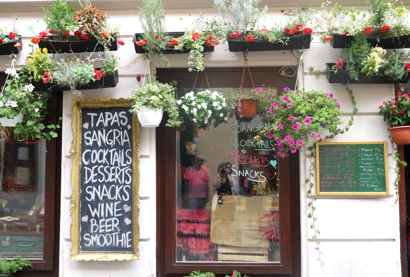 Restaurant : Mio Corazon, Zagreb, Croatie