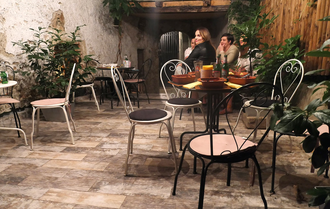 La struck, restaurant, Zagreb, Croatie