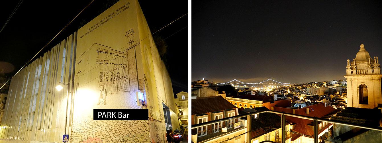 Park bar, Lisbonne
