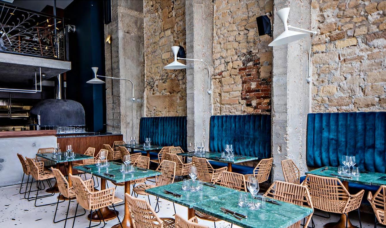 restaurant italien la trattoria daroco paris 2e. Black Bedroom Furniture Sets. Home Design Ideas