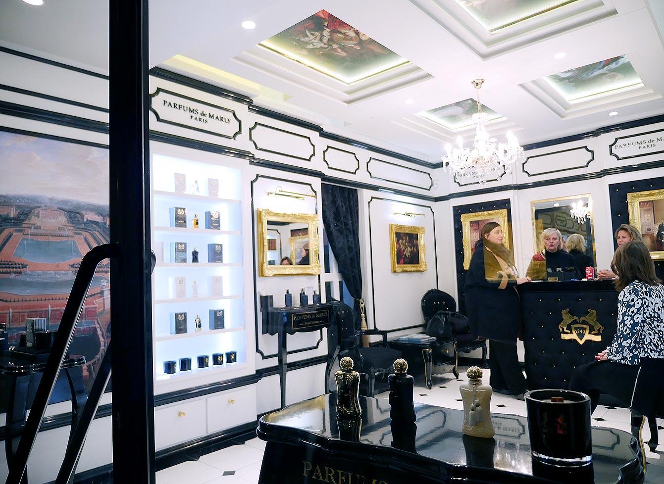 Les Parfums de Marly, une marque de prestige française