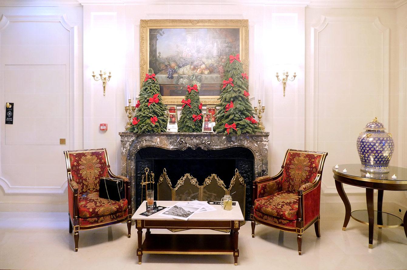 Hôtel Ritz Paris, Noël