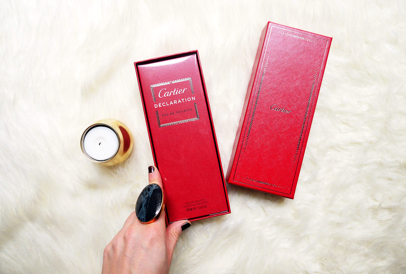 """Coffret """"Déclaration"""" Cartier"""