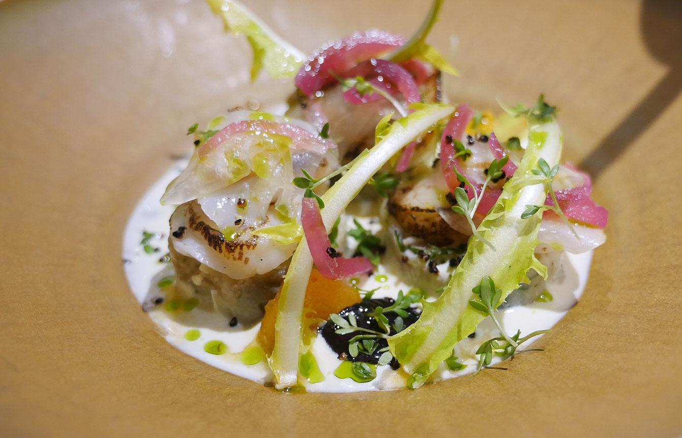 Saint-Jacques, cuisine nikkei chez Uma