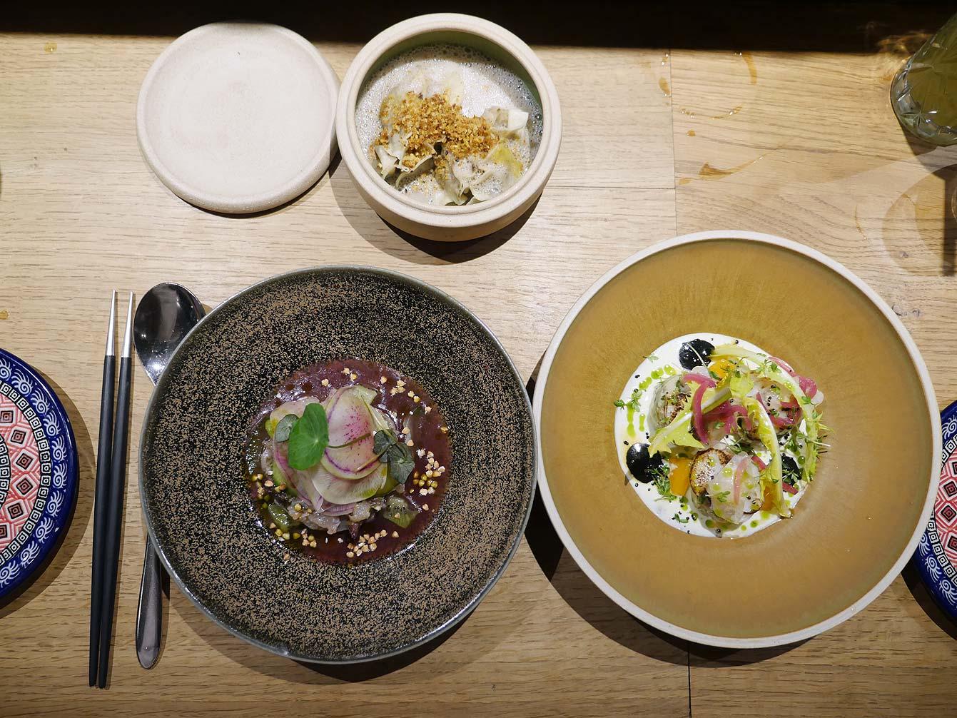 Ceviche, cuisine nikkei chez Uma