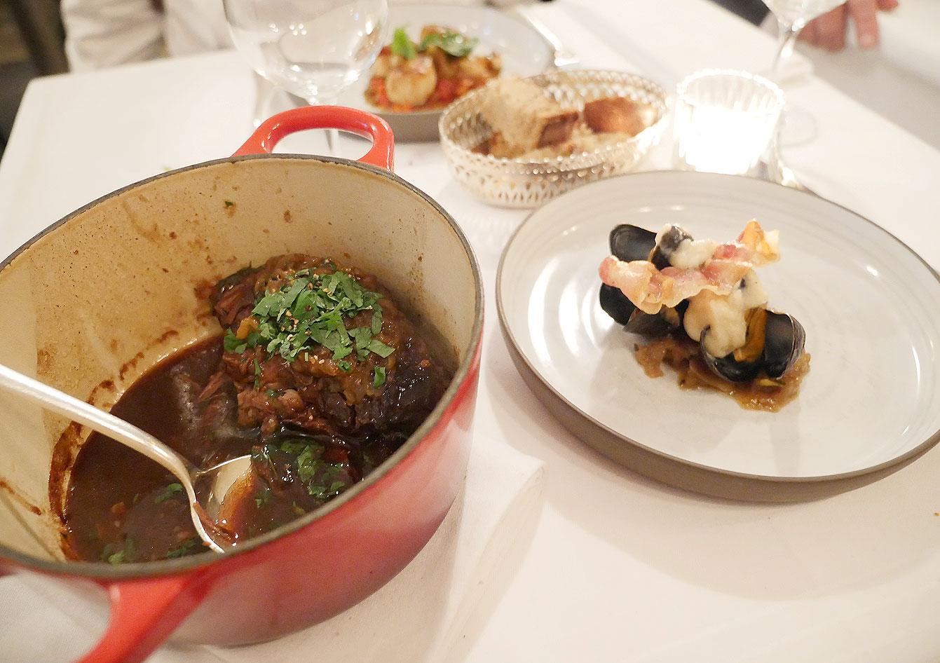 "Estouffade de veau ""bourguignonne"", Bistrot Belhara"