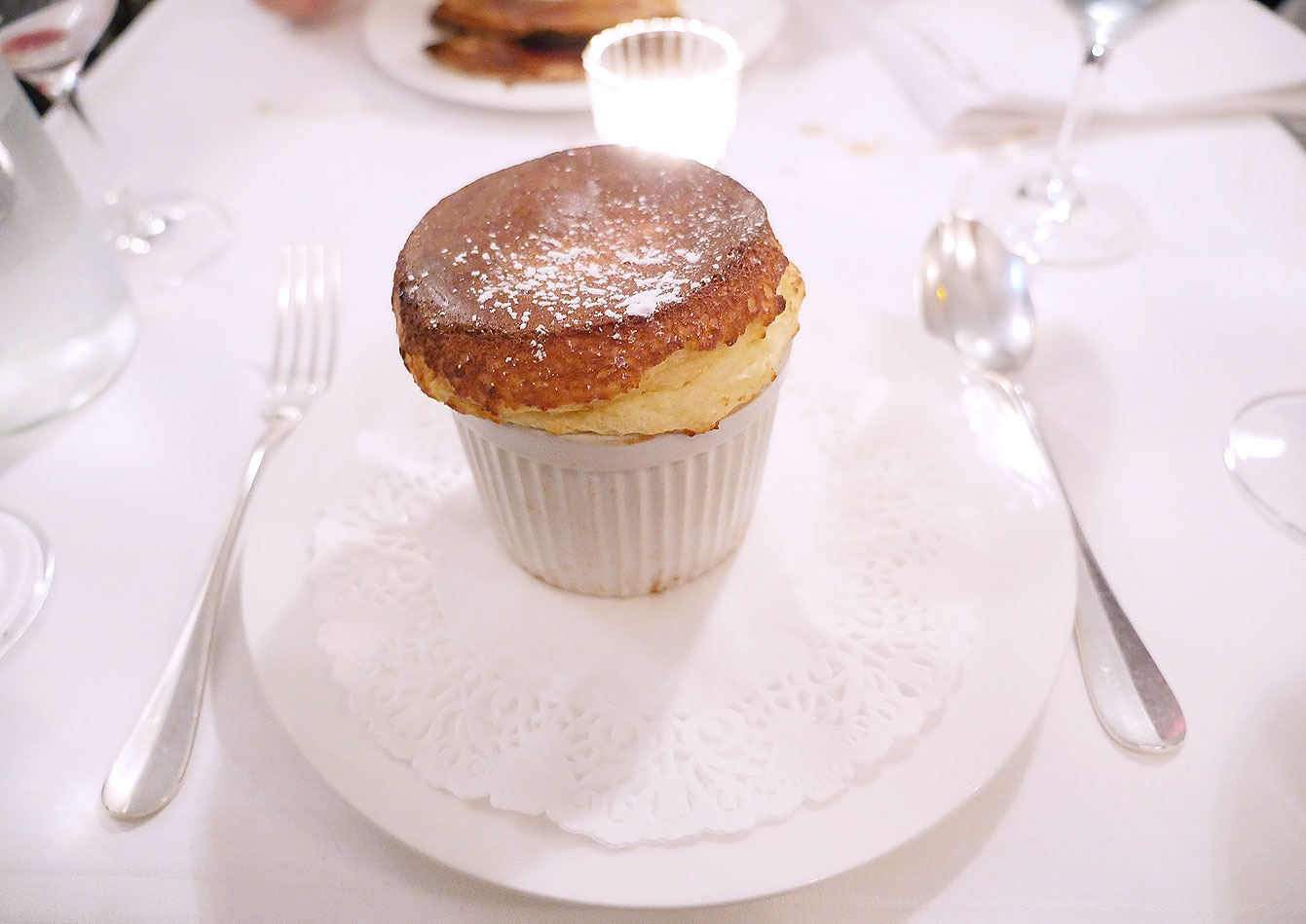 Soufflé tradition au Grand Marnier 'cuit minute'