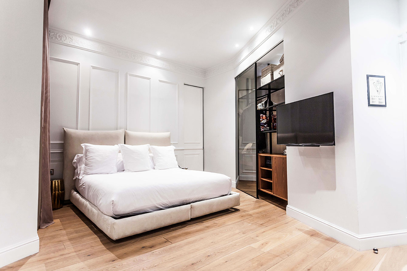 Chambre double de luxe : 415, à l'hôtel Banke