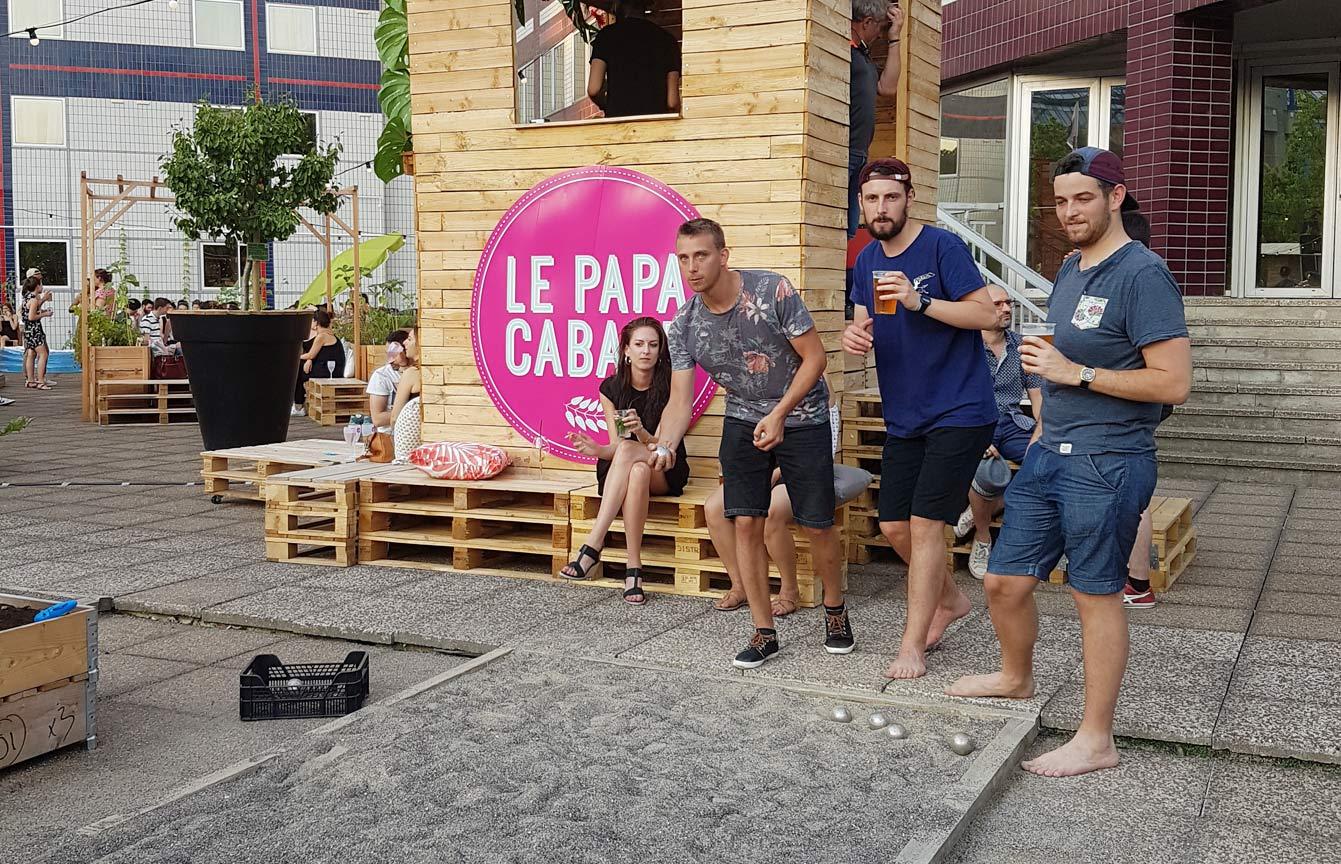 Le Papa Cabane, Paris