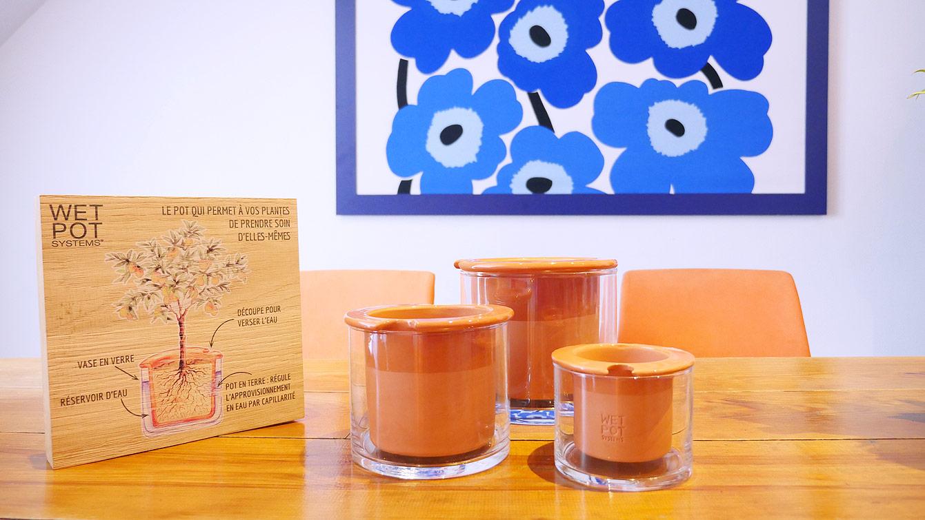 Wet Pot : le pot qui entretient vos plantes