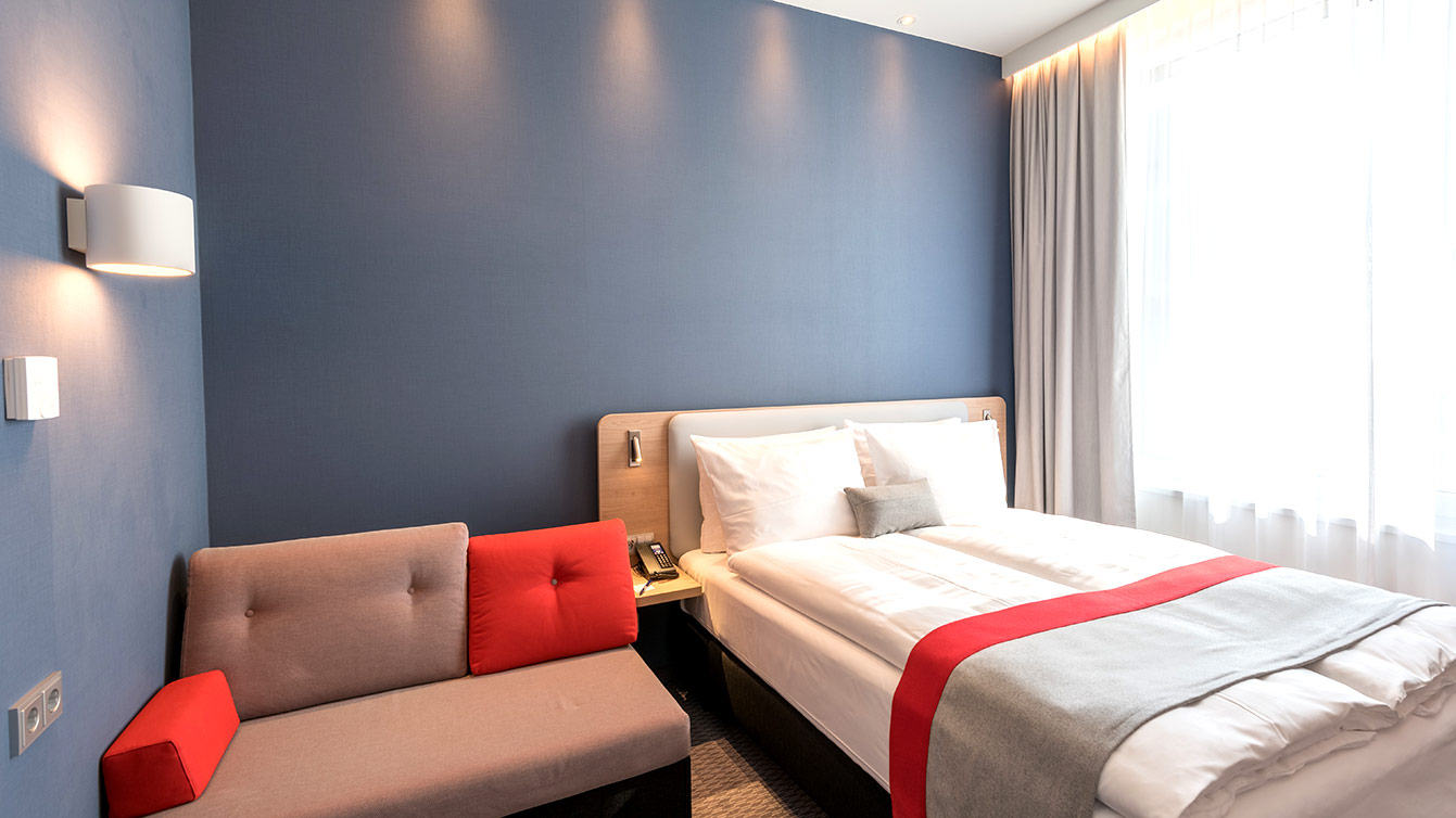 Rock en Seine, hôtel Velizy