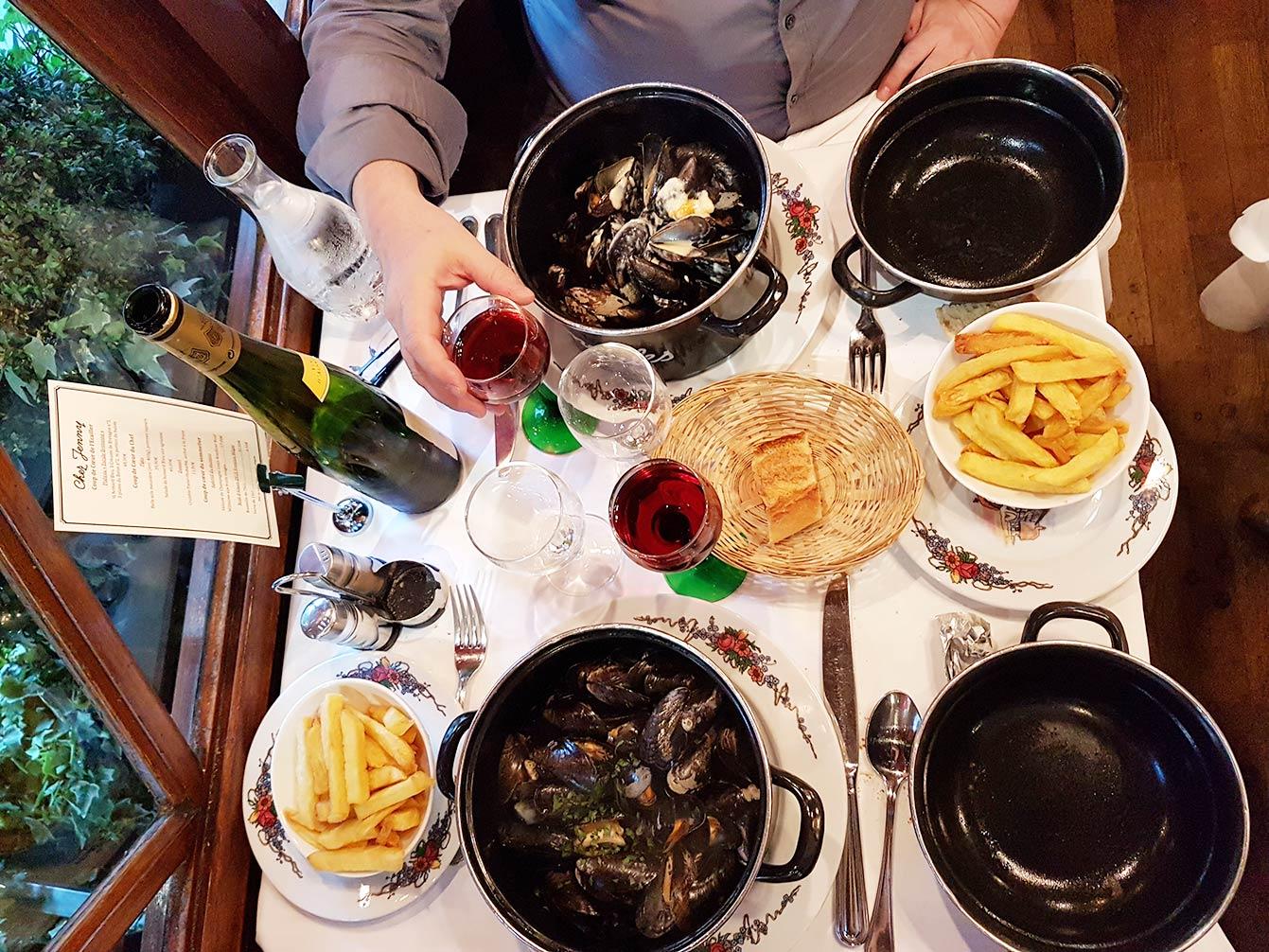 Chez Jenny, restaurant, Paris 3e