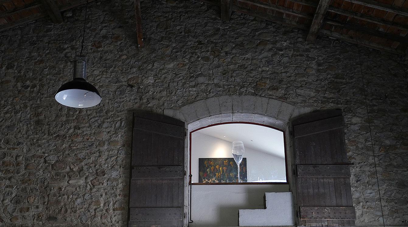 Domaine du Colombier, caveau, Ardèche
