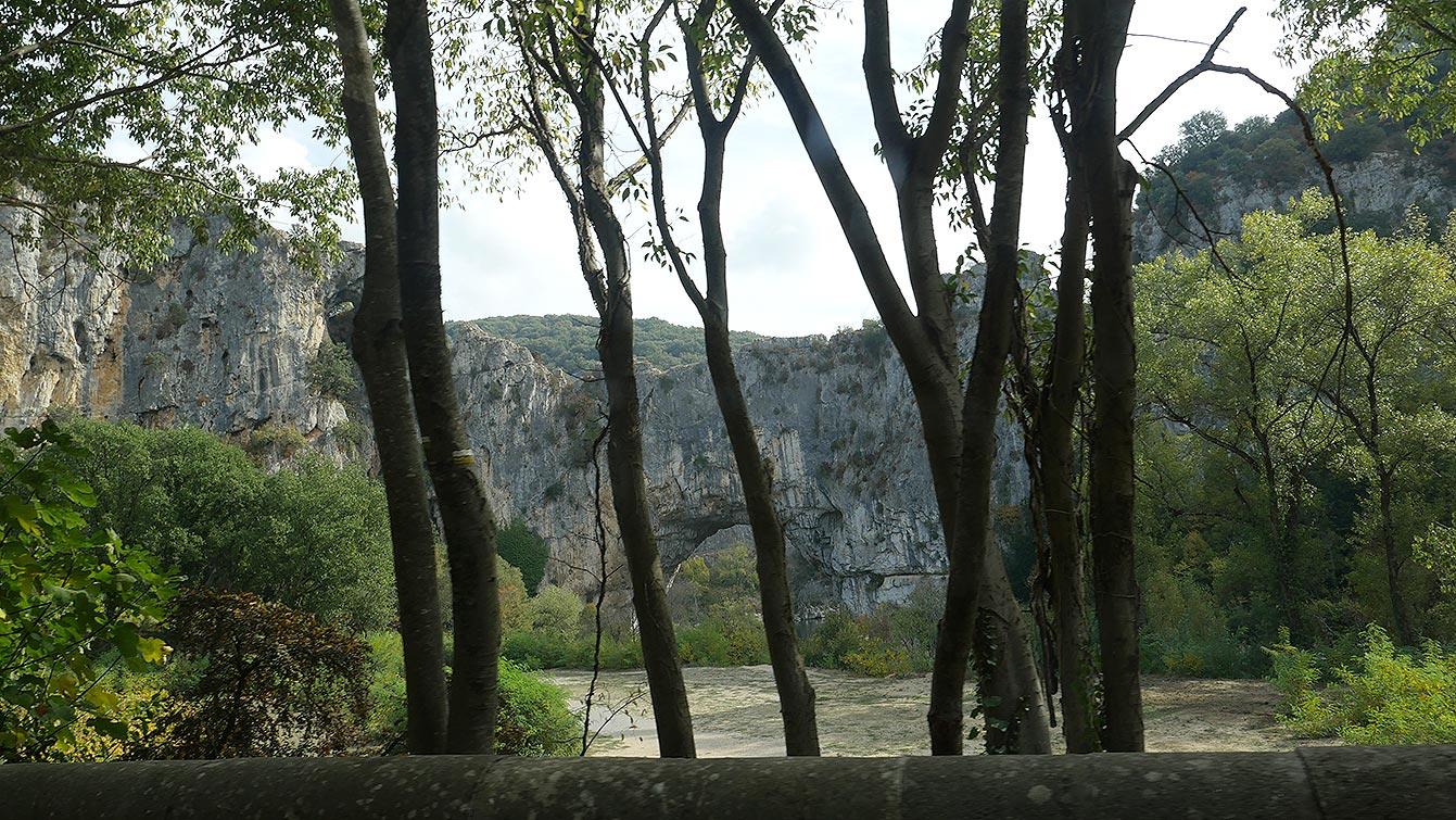 Paysage, sud Ardèche