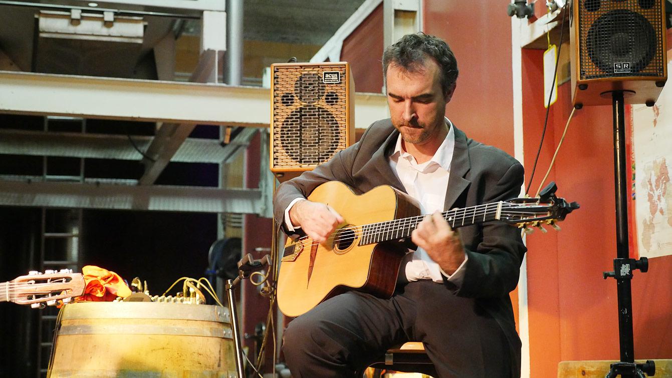 Concert dans une domaine, Ardèche