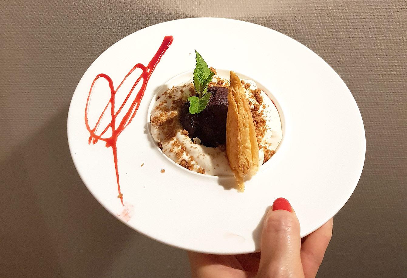 Restaurant : la Cigale et e fourchette, Ardèche