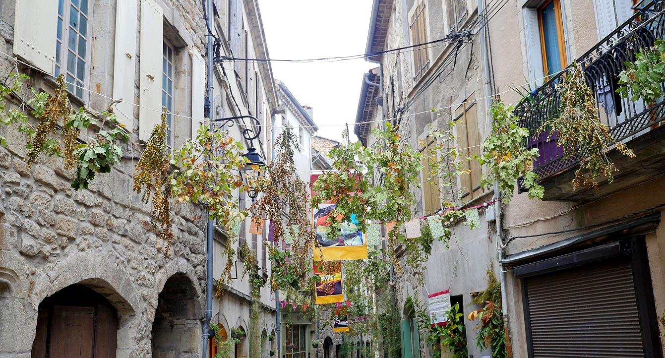 Joyeuse, vieille ville, Ardèche
