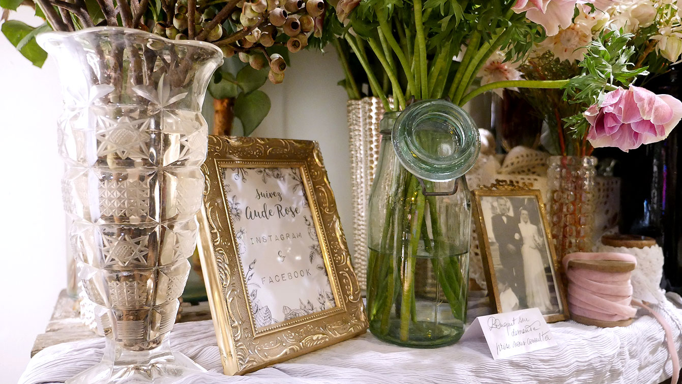 appartement-amoureuse, Aude Rose - Designer floral et wedding designer