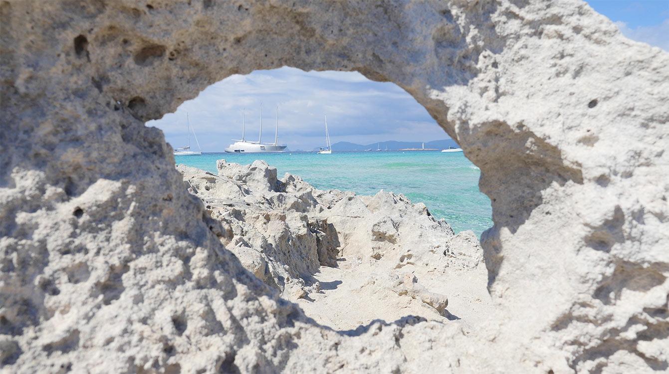 Formentera, playa illetes