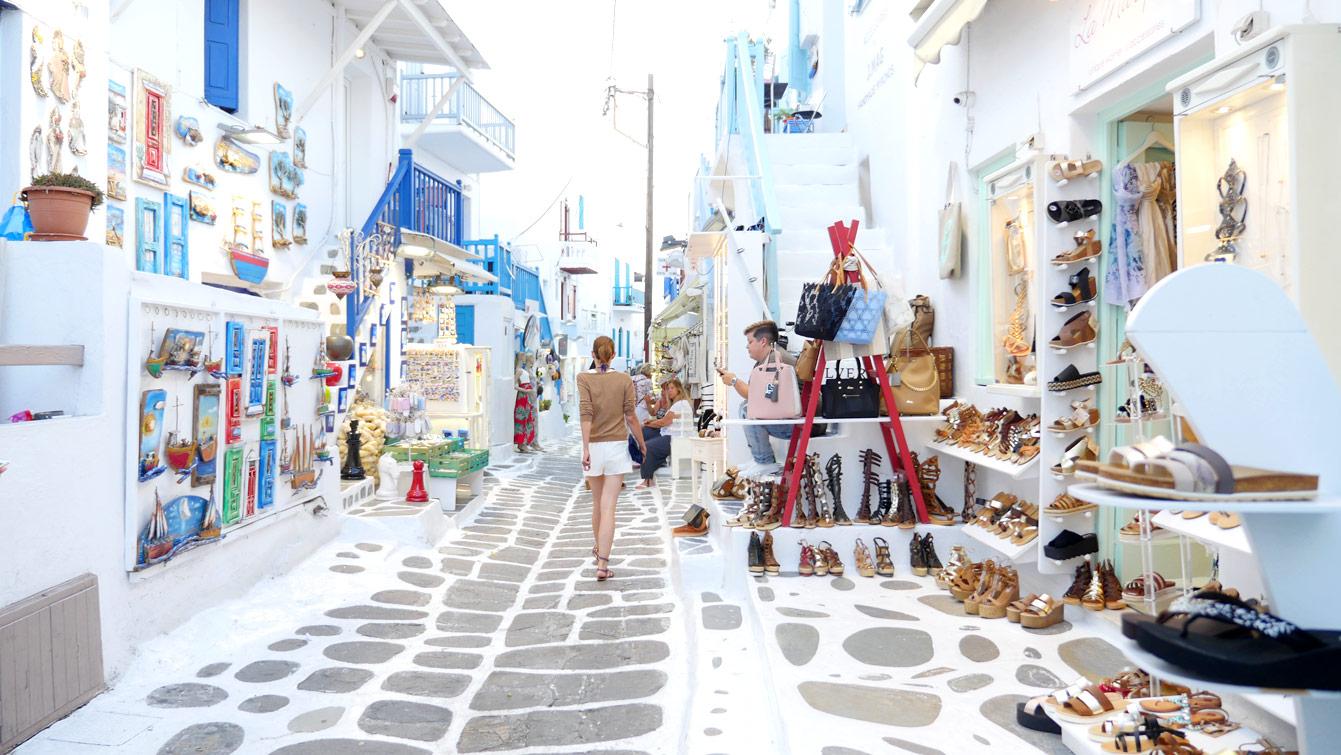 Mykonos, Chora, ville