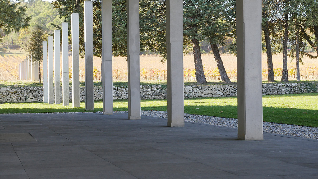 Château la Coste, Tadao Ando
