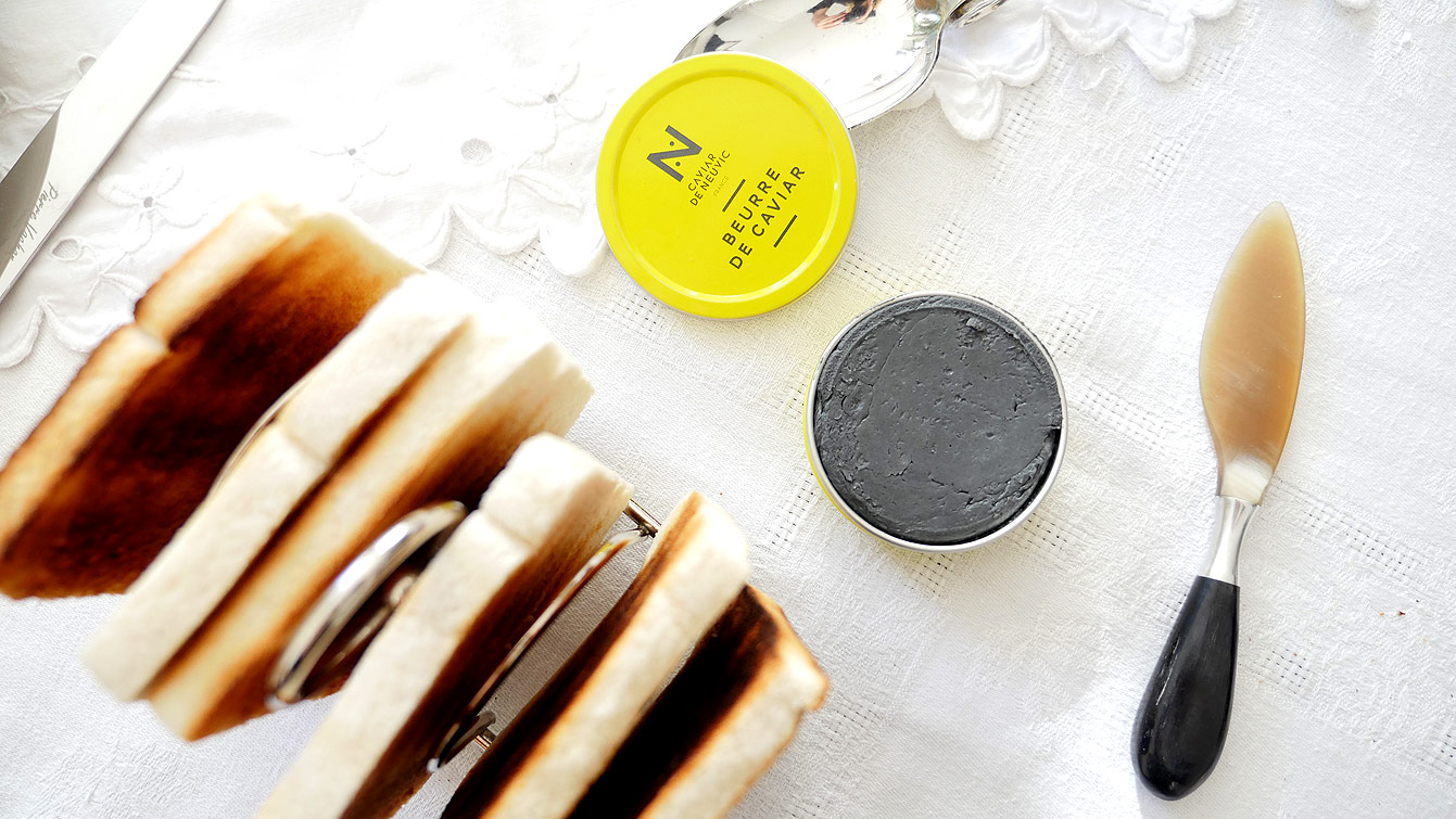 Beurre de caviar, Caviar de Neuvic