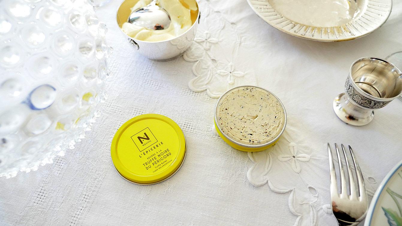 Beurre de truffe, Caviar de Neuvic