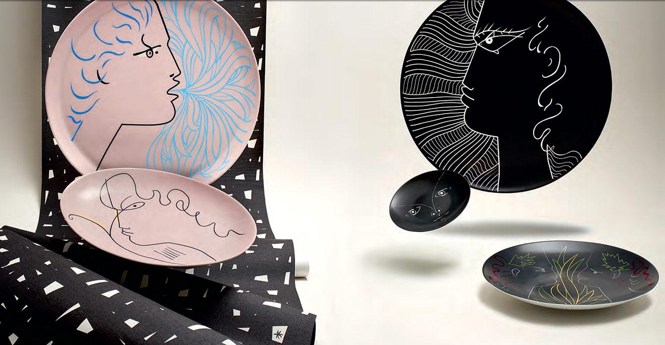 Porcelaines Raynaud et Jean Cocteau