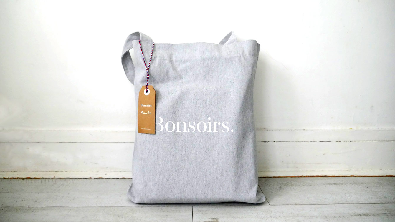 "Tote Bag ""Bonsoirs"""