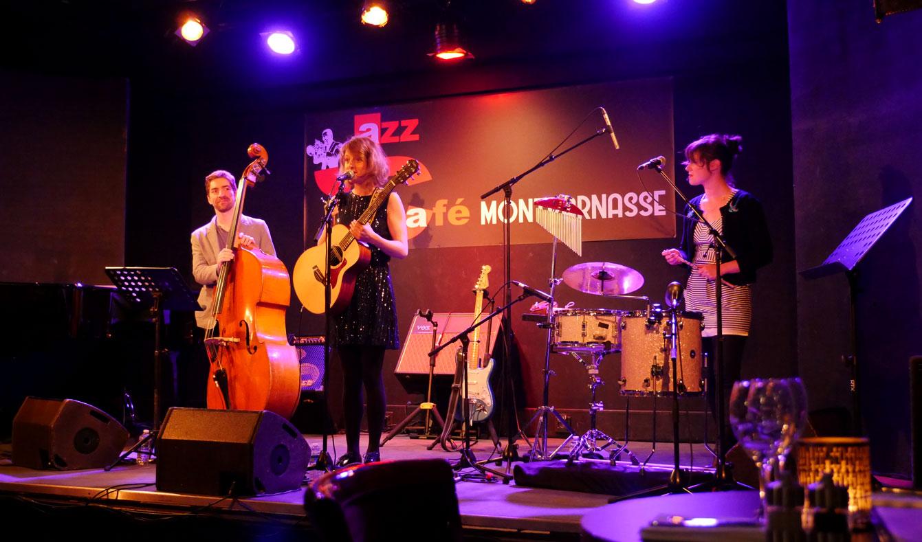 Melody Linhart , Jazz Montparnasse