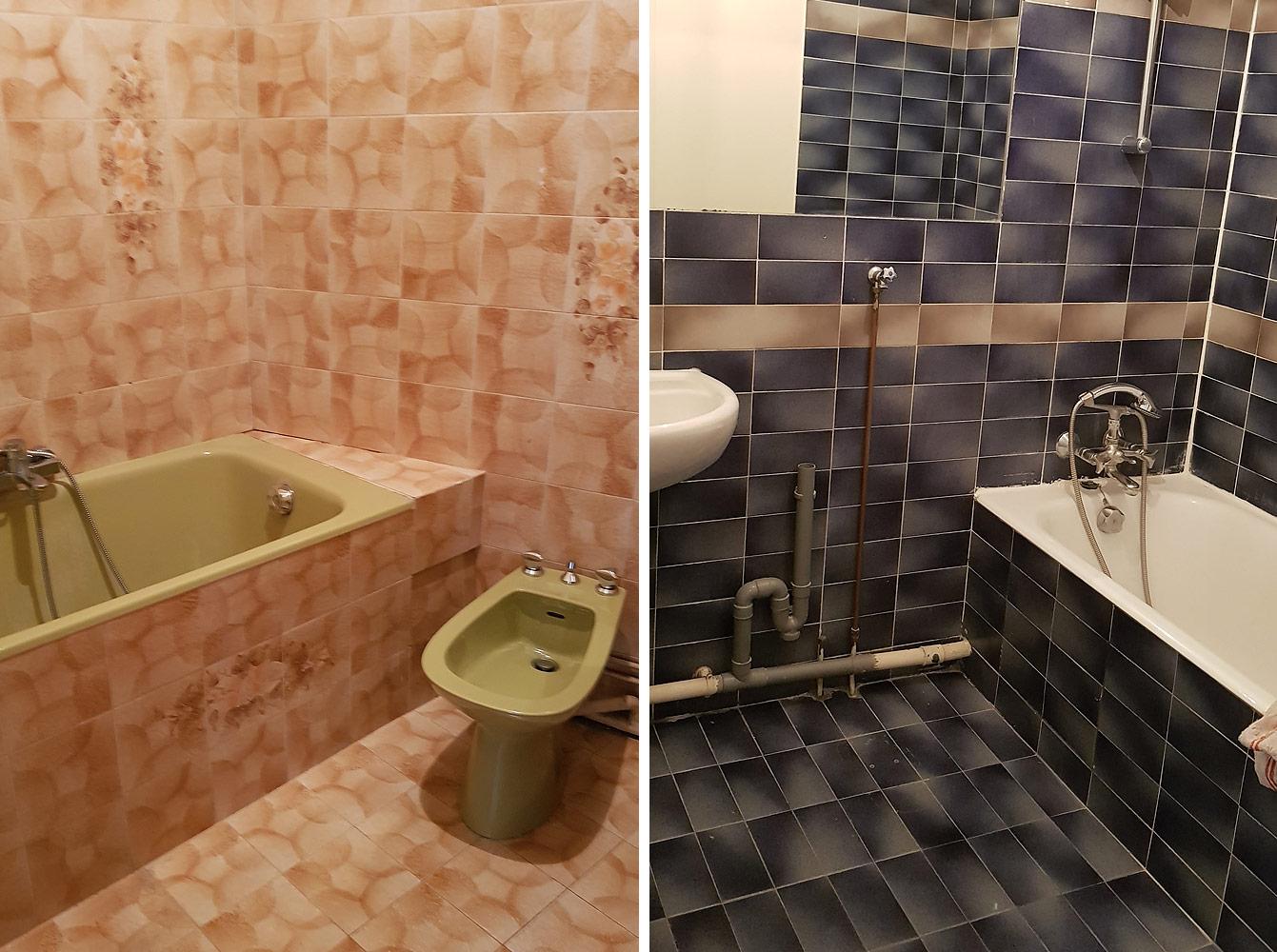 Recherche d'appartement à Paris : salles de bain dépassées...