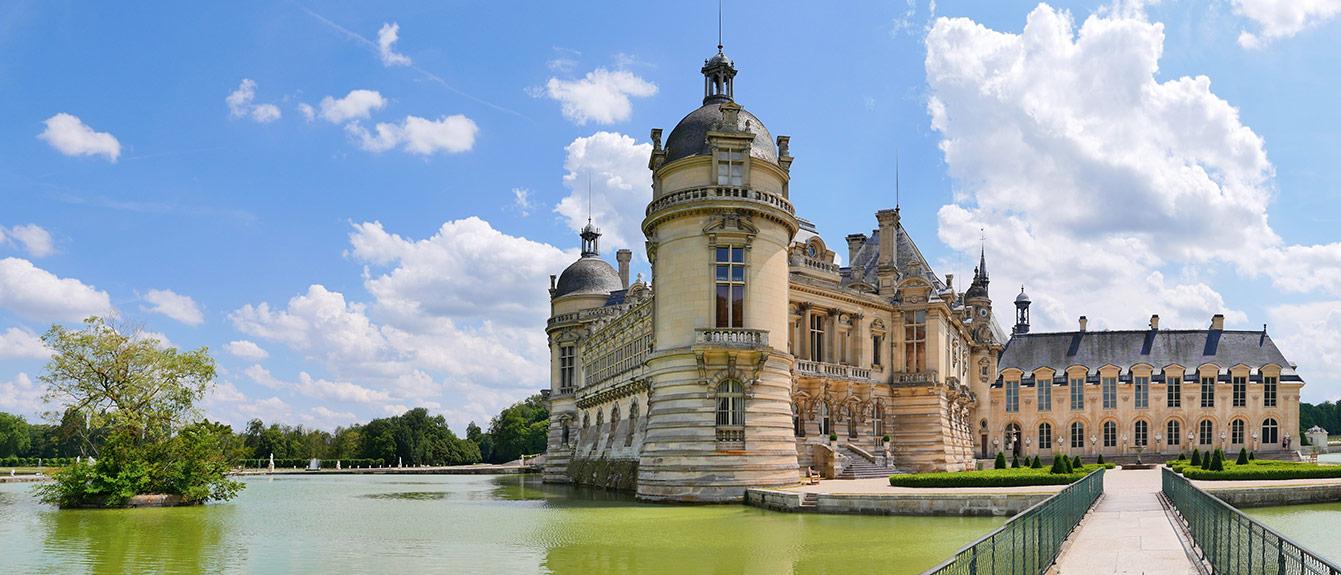 Le domaine de Chantilly et son château